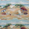 Beach Scene Tapestry Fabric -- R-Gulf Breeze - Image