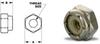 Hexagonal Insert Locknuts (inch) -- A 9X23-0832