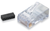 CAT6 Modular RJ-45 Connectors, 250-Pack -- FM860-250PAK