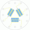 Three-Channel Thin-Film Thermopile in a TO-8 Package -- TM34 -Image