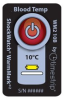 Temperature Indicator -- ShockWatch® Blood Temp Indicator