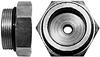 ORB Male Plug with Gauge Ports -- HC-OMP-8