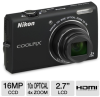 Nikon S6200 26274 COOLPIX Digital Camera - 16 Megapixel, 10x -- 26274