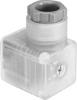 Angled plug socket -- PEV-1/4-WD-LED-230 - Image