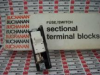 TERMINAL BLOCK W/FUSE & SWITCH SCR/NO8 OR SMALLER -- 342