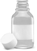Clear Glass Reagent Bottles -- 221017