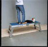 Work Platform,1 Step, 5 to 8 In H,Gray -- 9WGZ4