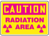 Caution: Radiation Area (symbol) Signs -- GO-51014-37