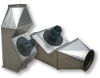 Inline Boiler Exhaust Fan -- IPVB 350