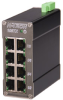 108TX HV MDR Unmanaged Industrial Ethernet Switch -- 108TX-HV-MDR -- View Larger Image