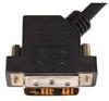 DVI-D Single Link DVI Cable Male / Male 45 Degree Left , 3.0 m -- DVIDSL-45-3M - Image