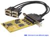 4 Ports Serial PCI (16C650) (4x9pin) -- PS420