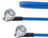 Low PIM RA 4.3-10 Male to RA 4.3-10 Male Plenum Cable SPP-250-LLPL Coax in 50 CM and RoHS -- FMCA1321-50CM -Image