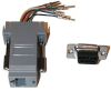 Adapter, 9 Pin M to 8 Pin F -- GC-A9F2DF - Image