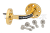 WR-10 Instrumentation Grade Waveguide E-Bend with UG-387/U-Mod Flange Operating from 75 GHz to 110 GHz -- PE-W10B001 - Image