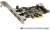 4-Port SuperSpeed USB 3.0 PCI Express (x1)… -- PEU437