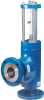 Angle Type Flanged End Relief Valve -- Model C-AA