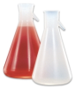 Volumetric flask from U.S. Plastic Corp.