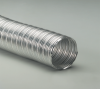 Single-Ply Helically Corrugated Aluminum Alloy Hose -- Bendway® A 8.0 -- View Larger Image