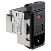 Power Entry Connectors - Inlets, Outlets, Modules -- 1-6609948-6-ND - Image