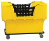Material Handling Cart,Yellow -- 4HTF8