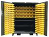 Extra Wide Bin Cabinet with High Capacity Shelf Storage -- 56-BBS-362FLP - Image
