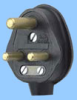 South Africa Black Rubber Plug -- 88010230