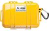 Pelican 1020 Micro Case - Yellow with Black Liner -- PEL-1020-025-240 -Image