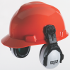 Helmet-Mounted, Passive Ear Muffs -- EXC Cap Mounted Earmuff -- View Larger Image