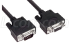 LSZH D-Sub Cable, DB9 Male / DB9 Female, 5 ft -- CSMUZ9MF-5