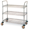 Metro Standard-Duty Three-Shelf Utility Carts -- se-19-138-773