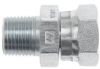 Brennan 1404-06-08 Steel Pipe Fitting, Adapter, 3/8