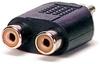 RCA M/F/F Adapter -- 10-21904
