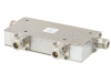 Dual Junction Circulator With 40 dB Isolation From 1.7 GHz to 2.2 GHz, 10 Watts And N Female -- PE83CR1016 -Image