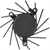 31.0 Watt (W) Power PLB07010B-A Series Type A Frameless Fan -- PLB07010B12HH-A -Image
