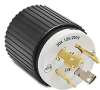 30A Electrical Plug: locking, 125/250 VAC, NEMA L14-30 -- 71430NP