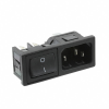 Power Entry Connectors - Inlets, Outlets, Modules -- 708-1879-ND -Image