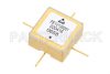 Surface Mount (SMT) Voltage Controlled Oscillator (VCO) 18 MHz to 30 MHz, Phase Noise of -140 dBc/Hz, 0.5 inch Hi-REL Hermetic -- PE1V13001 - Image
