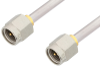 SMA Male to SMA Male Cable 18 Inch Length Using PE-SR402AL Coax -- PE34180LF-18 -Image