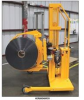 EasyLift Roll Clamp Rotator - DC Powered - Straddle Leg Style -- HER-OPTION-ADJ-CLAMP -Image
