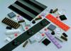 3M(TM) Bumpon(TM) Resilient Rollstock SJ5808 Black, 9 in x 36 yd, 1 per case -- 021200-67861