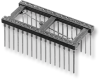 Open-Frame Capacitor Collet DIP Sockets with Wire Wrap Pins – Series 508 - Image