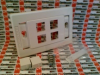 WALL PLATE 4PORT WHITE INTERFACE -- AX101437