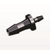 Straight Reducer Connector, Barbed, Black -- HSR8431 -Image