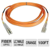 Tripp Lite N520-30M Duplex MMF Patch Cable - 100-Foot, Orang -- N520-30M