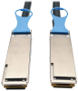 QSFP28 to QSFP28 100GbE Passive DAC Copper InfiniBand Cable (M/M), 0.5 m (20 in.) -- N282-20N-28-BK - Image
