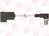 MURR ELEKTRONIK 7000-41101-2360080 ( M12 MALE 90° / MSUD VALVE PLUG FORM C 8 MM, PUR 3X0.75 GRAY, UL/CSA, DRAG CH 0.8M ) -Image