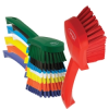 Color Coded Short Handled Stiff Hand Brush -- 62000 -- View Larger Image