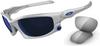 Oakley Split Jacket Sunglasses Array with Polished White -- OK-OO9099-03