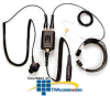 Pryme Radio Products Heavy Duty Throat Mic for Motorola.. -- SPM-1543